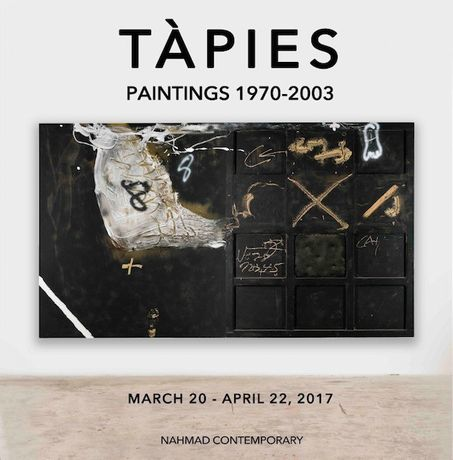 Antoni Tàpies. Tàpies: Paintings, 1970-2003