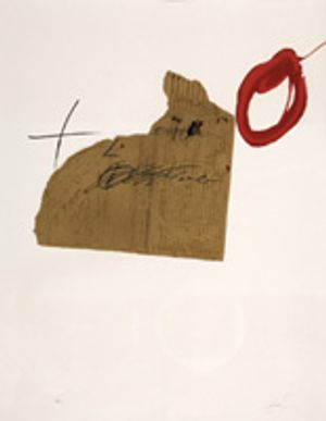 Antoni Tapies- Picture of the month