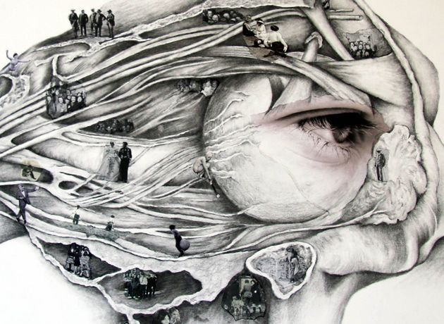 Seat of the Soul, Jennie Jewitt-Harris, Drawing/Collage