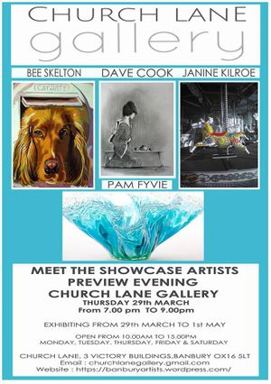 April Showcase - Dave Cook, Bee Skelton, Pam Fyvie & Janine Kilroe