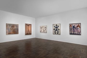 A.R. Penck: Early Works. Installation view