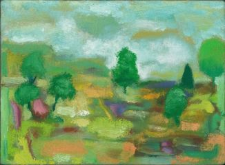 Camille's Recollected Landscape 23 x 31cm