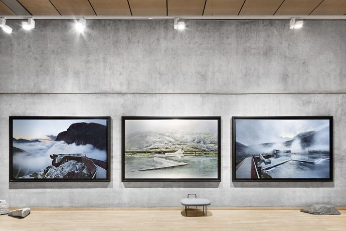 """ARCHITECTURE AND LANDSCAPE IN NORWAY"" - Photographs by Ken Schluchtmann: Image 2"