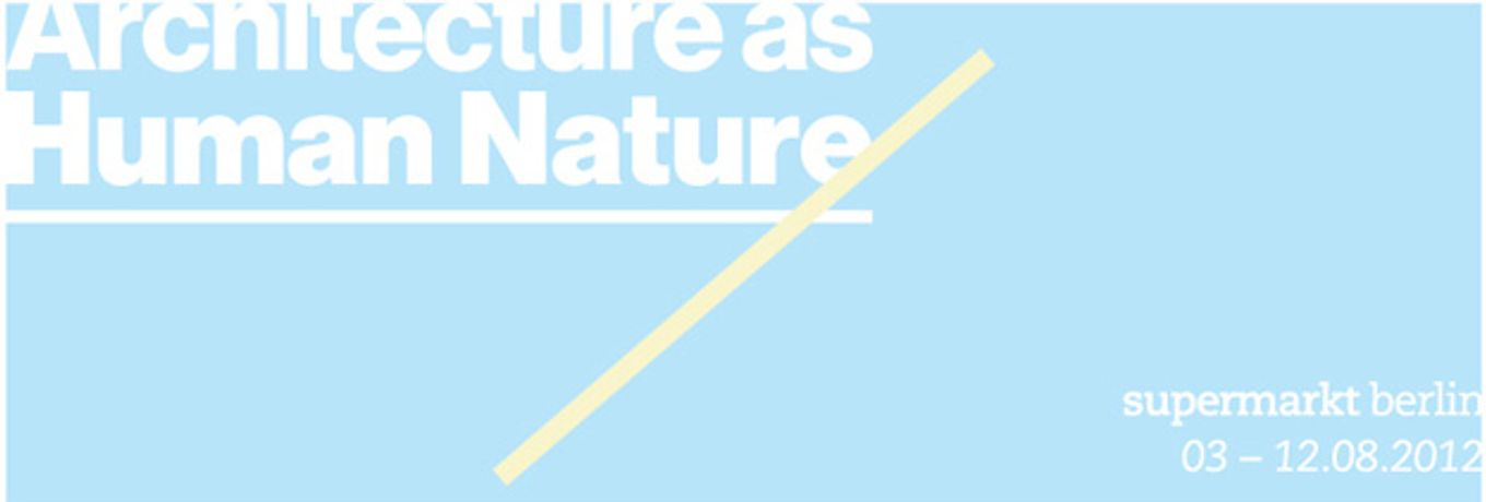 Architecture as Human Nature: Image 0