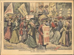 Archives Tour – Women's And Feminist History