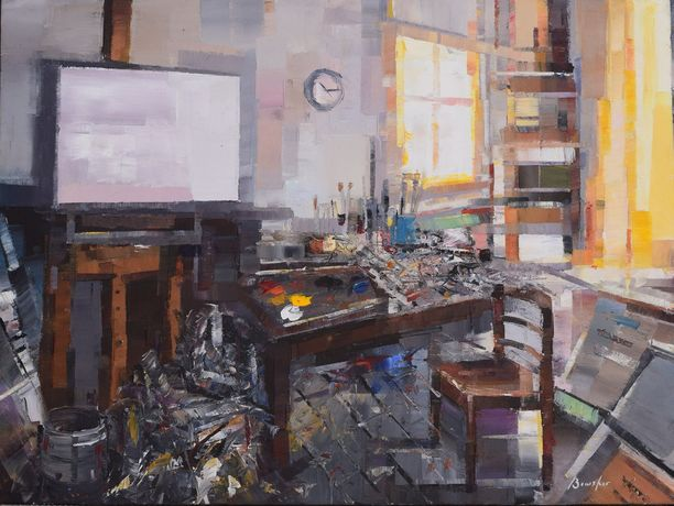 Steve Bewsher, The Studio
