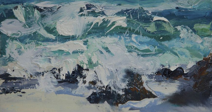 'Dancing Waves' Alison Critchlow