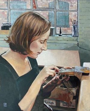 John Shakespeare RBSA, 'The Jewellery Maker'