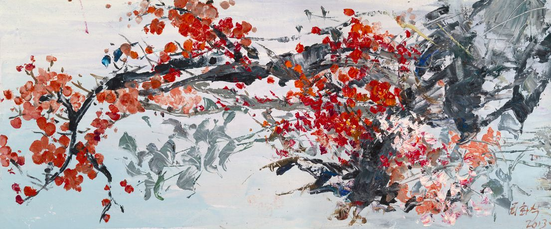 Art Above Adversity, North Korean Paintings: Image 3