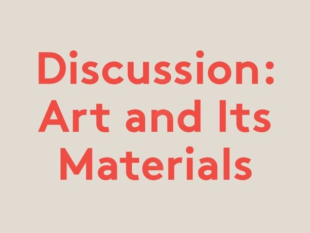 Art and Its Materials Led by Esther Leslie: Image 0