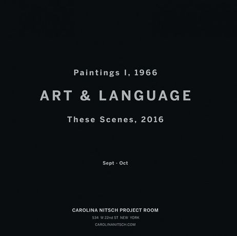 Art and Language