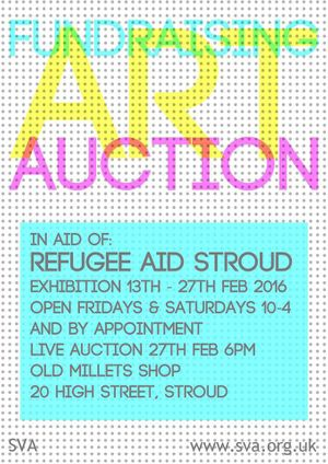 Art Auction - In aid of Refugee Aid Stroud