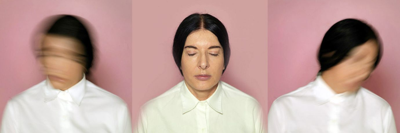 Luciana Brito Galeria  Marina Abramovic  The Current, triptych, 2013/2015  Courtesy the artist and the gallery