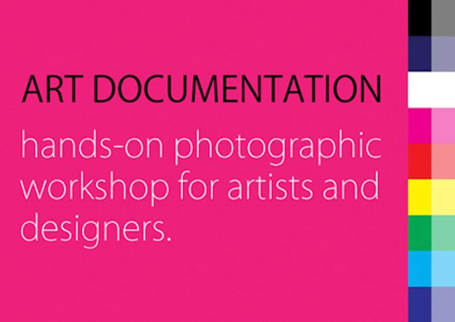Art documentation - A hands on photographic workshop: Image 0