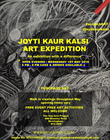 Joyti Kaur Kalsi : Art Expedition