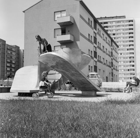 Three-sided Slide, Schrankenberg, Vienna 10, 1963–1965 Courtesy Josef Schagerl