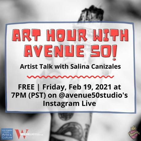 Art Hour with Avenue 50: Salina Canizales