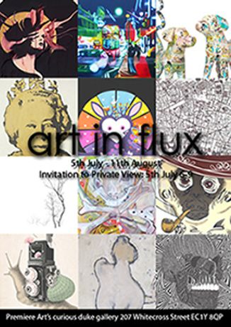 ART IN FLUX closing party!: Image 0