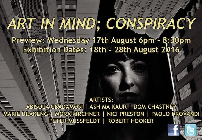ART IN MIND; CONSPIRACY: Image 0