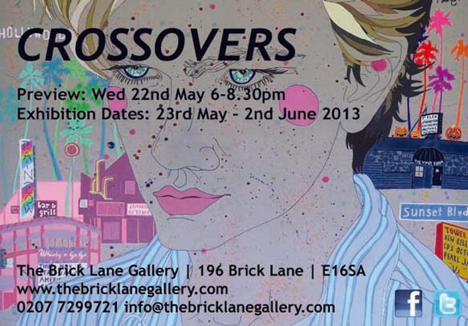 Art in Mind | Crossovers | The brick lane gallery: Image 0