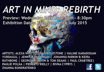 ART IN MIND  25th June-5th July 2015