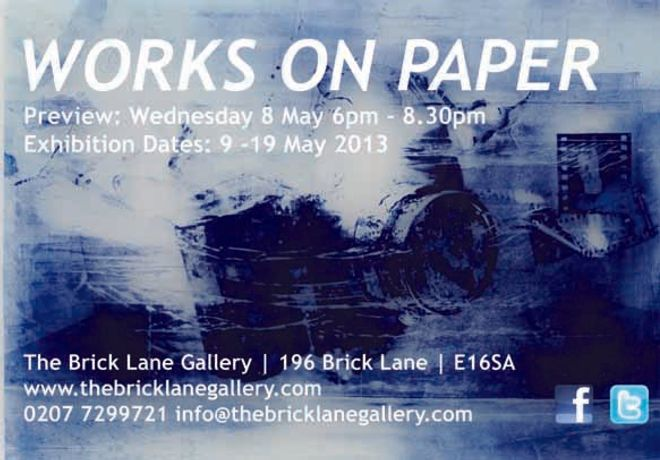 Art in Mind | Works on paper | The brick lane gallery: Image 0