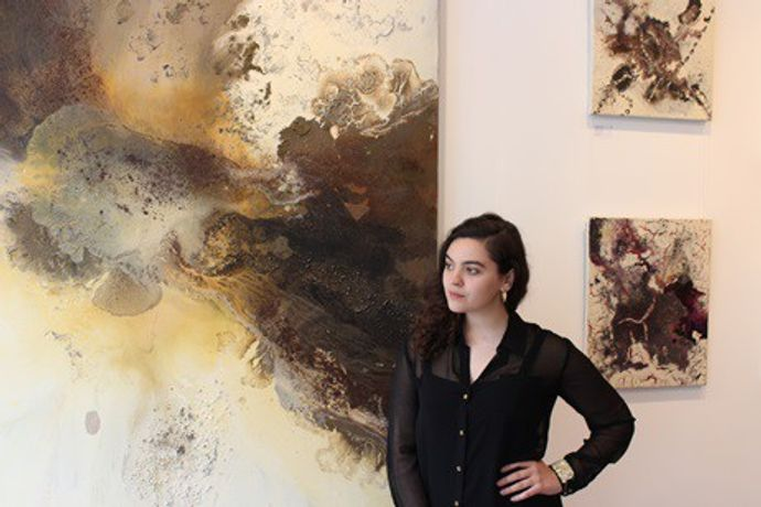 Morgane Wagner ( The Square Gallery Founder)