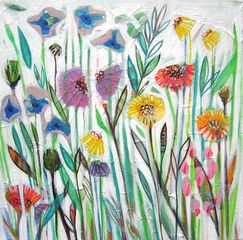 'April Stems' painting http://www.shyamaruffell.co.uk/
