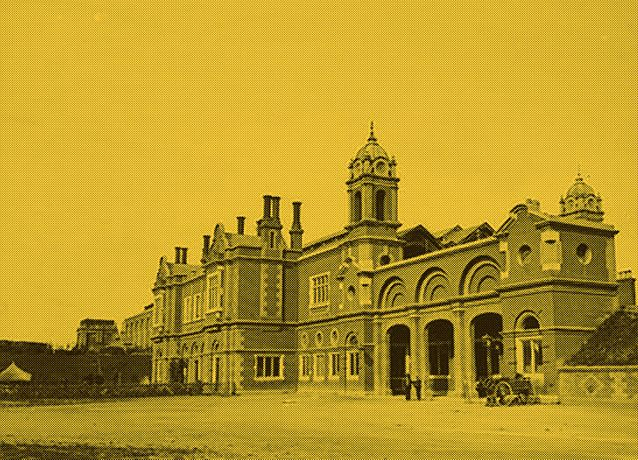Bury St Edmunds Railway Station. c.1853. Part of the Spanton Jarman Collection. Reproduced with the kind permission of The Bury St Edmunds Past and Present Society