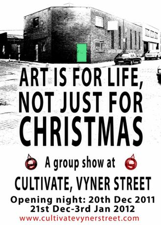 ART IS FOR LIFE, NOT JUST FOR CHRISTMAS...: Image 0