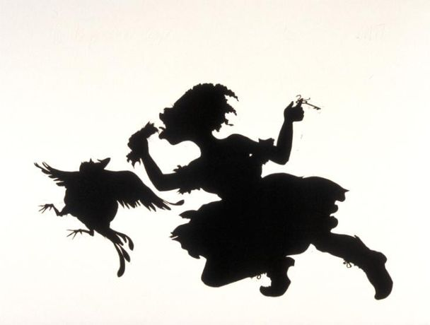 Kara Walker, The Keys to the Coop 1997. Tate. © Kara Walker