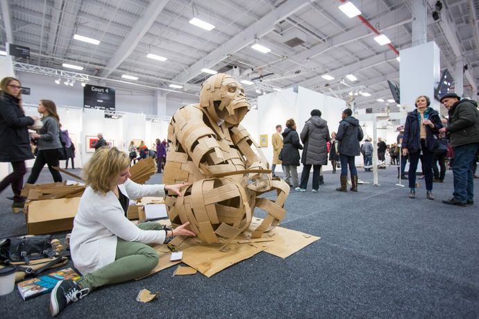 Art on Paper 2017. source: http://thepaperfair.com