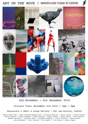 Art On The Move - Magdalen Road Studios at The Jam Factory