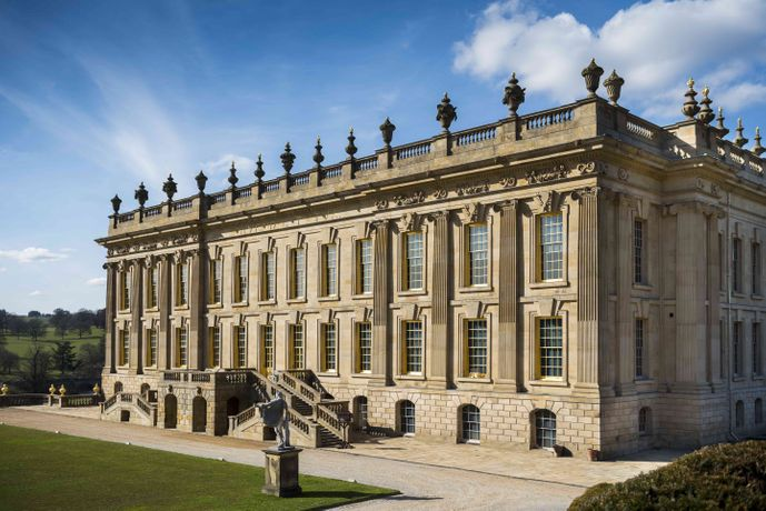 Newly renovated Chatsworth House