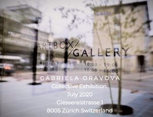 Gabriela Oravova Zürich Switzerland Art Exhibition