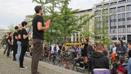 Bicycle Bell Orchestra at Art Spin Berlin 2016