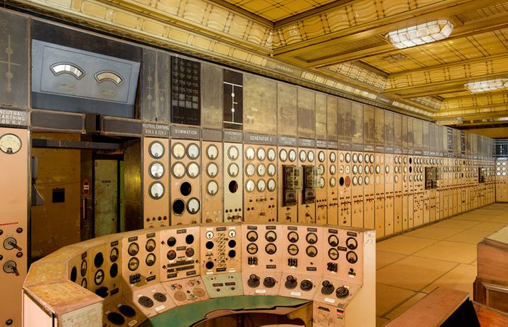 Battersea Power Station control room, photographed by Peter Dazeley © Peter Dazeley, 2015