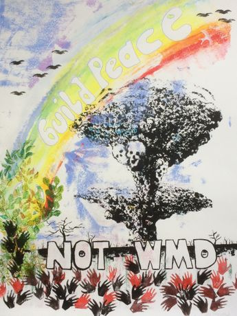 Build Peace not WMD by Linda Murgatroyd