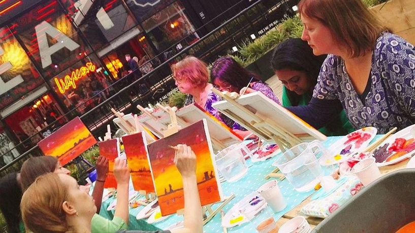 Art Tipple - Paint Like Monet - Paint and Sip night: Image 3