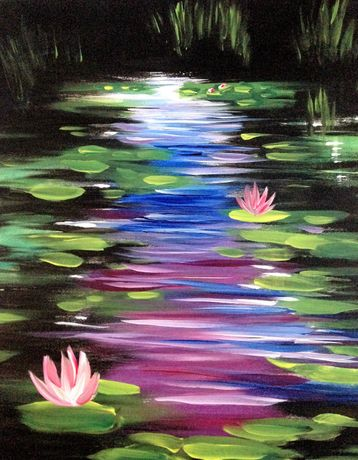 Art Tipple - Paint Like Monet - Paint and Sip night: Image 0