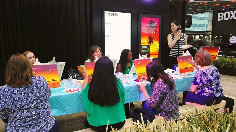 Art Tipple - Paint Like Monet - Paint and Sip night: Image 2