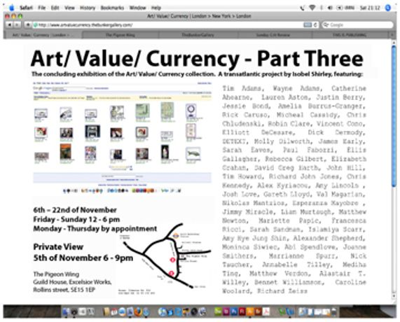 Art/ Value/ currency - Part Three: Image 0