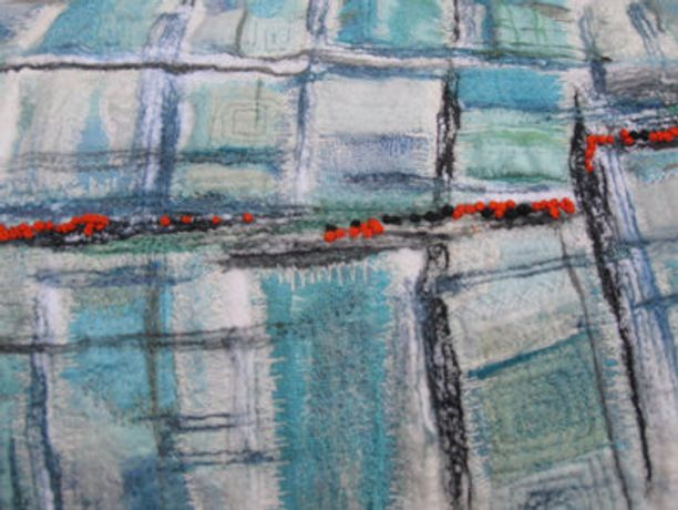 Art Workshop - Beautiful Textile Surface with Judith Rowley, Guest Tutor: Image 0