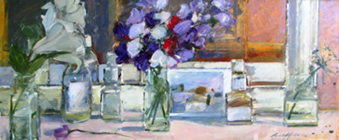 Art Workshop - Flower Painting in Oils with Caroline Griffin ABRSA: Image 0