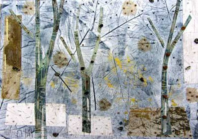 Art Workshop - Into the Woods: Mixed-media Collage with Stephanie Redfern RBSA: Image 0
