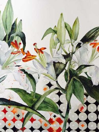 Art Workshop - Loosen up your Floral Painting with Vivienne Cawson RBSA: Image 0