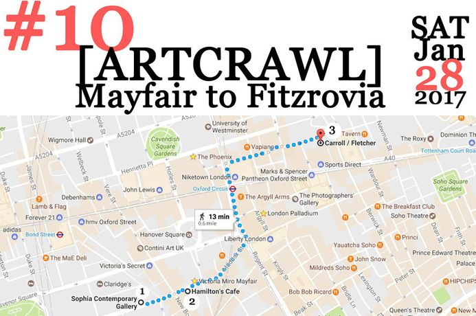 [ARTCRAWL] From Mayfair to Fitzrovia