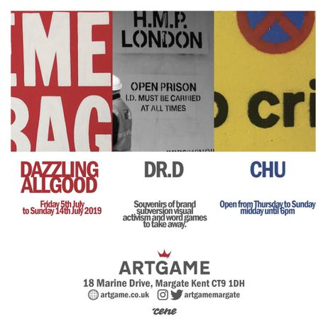 Artgame presents... Dazzling Allgood, dr.d and Chu: Image 0
