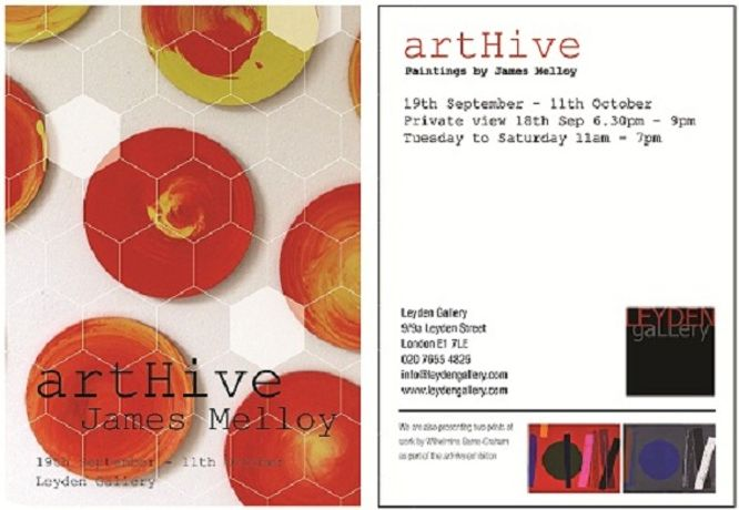 artHive an exhibition of paintings by James Melloy at Leyden Gallery: Image 0