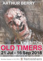 Arthur Berry : Old Timers. An exhibition of paintings for sale by Arthur Berry 21st July to 16th September 2018